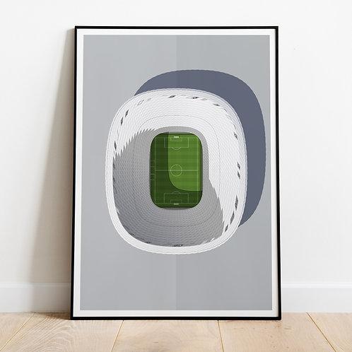 Bayern Munich Allianz Arena Print