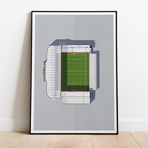 West Ham Boleyn Ground Stadium Print