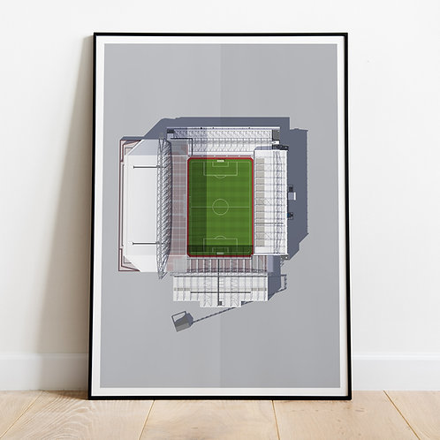 Liverpool Anfield Stadium Print