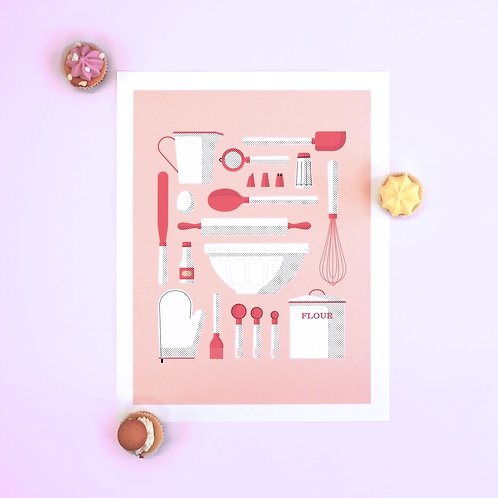 Baking Essentials Print