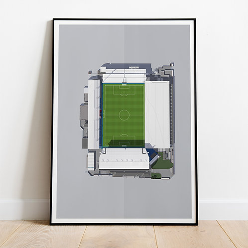 Crystal Palace Selhurst Park Stadium Print