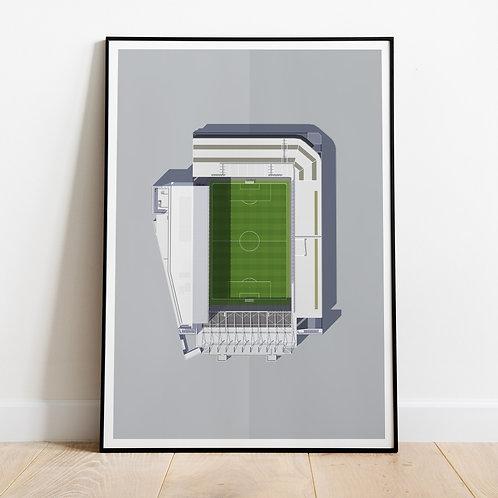 Everton Goodison Park Stadium Print
