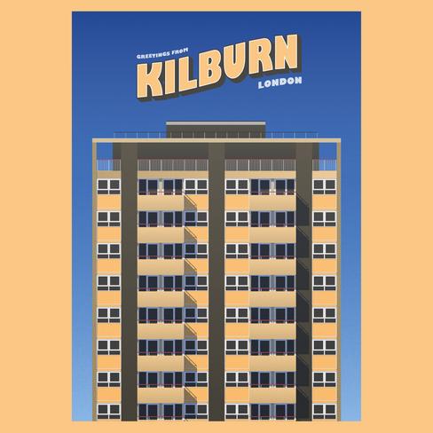 Postcards from Kilburn