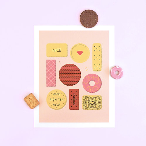 All The Biscuits Print