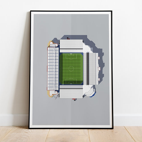 Rangers Ibrox Stadium Print