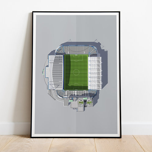 Chelsea Stamford Bridge Stadium Print