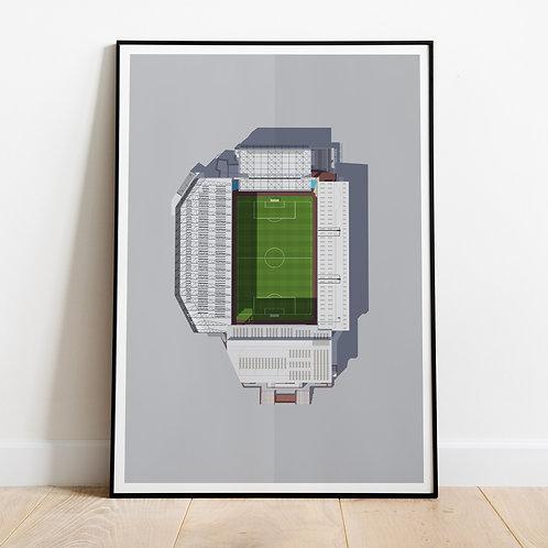 Aston Villa Villa Park Stadium Print