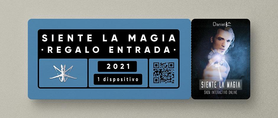 """""""Siente la Magia"""" · ENTRADA REGALO"""