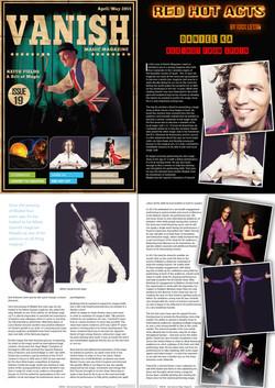 """International Magic Magazine """"Vanish"""