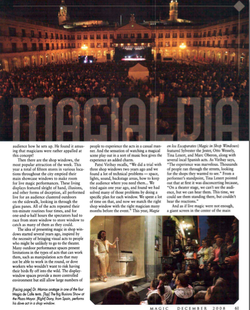 MAGIC Magazine - December 2008