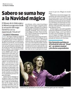 La Nueva Crónica - 30/12/2014