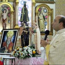 Tríduo em homenagem a Santo Agostinho e Santa Mônica.