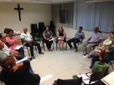 Primeiro encontro em 2017 da Fraternidade Agostiniana Leiga - Núcleo da Consolação - Belo Horizonte - MG