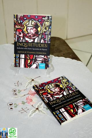 Lançamento do livro Inquietudes: Reflexões sobre Santo Agostinho de Hipona, do Frei Arthur Vianna Fe