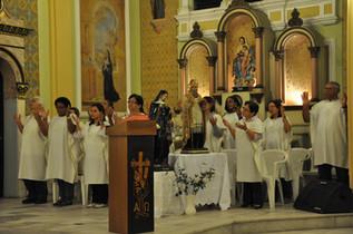 Missa de Santo agostinho - 2012
