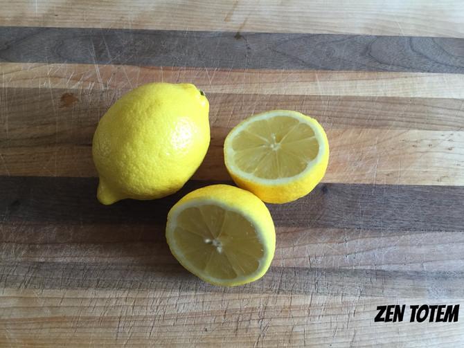 Masque de beauté miel-citron