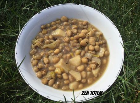 Soupe aux fèves (gourganes) sèches