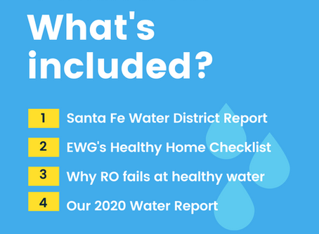 Our 2020 Water Report