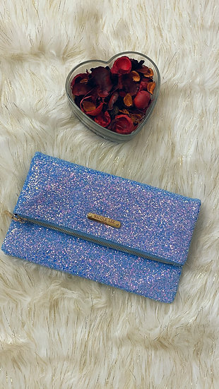 Sky Blue Sparkle Purse