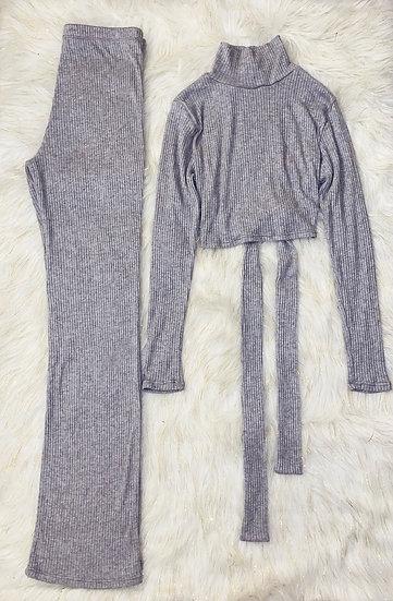 Two set crop top & pants