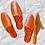 Thumbnail: Snake Print Pointed Toe Slide On Flat Mules
