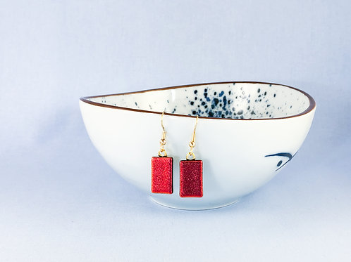 Red Hanging Earrings