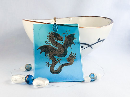 Dragon Decal Suncatcher