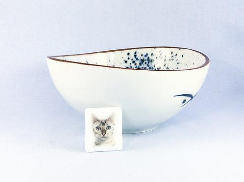 Cat Decal Brooch