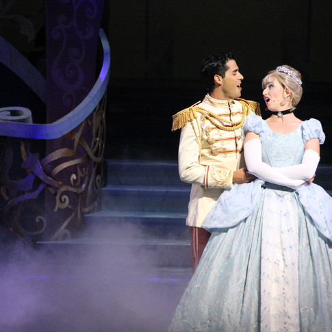 Prince Charming & Cinderella