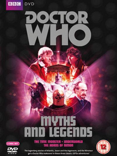 DVD: Third Doctor (Jon Pertwee) M-Z