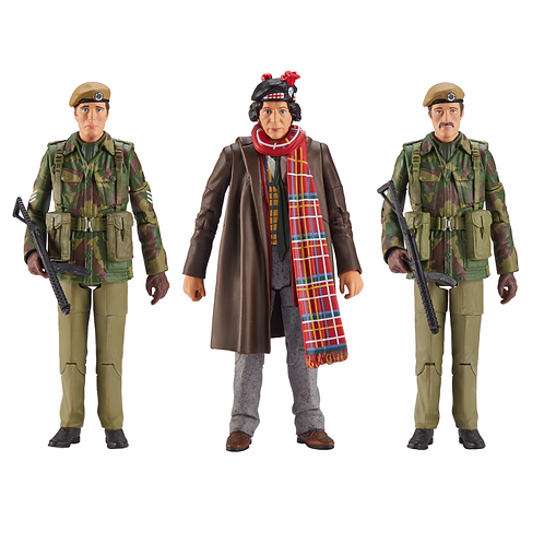 Doctor Who UNIT 1975: Terror of The Zygons Action Figure Set