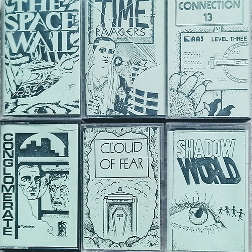 Audio Visuals Doctor Who cassettes