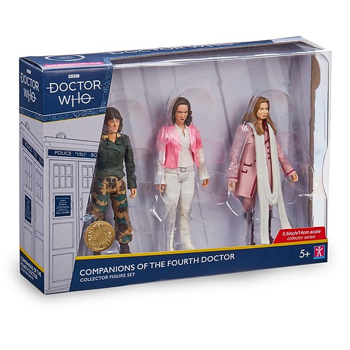 Companions of the Fourth Doctor Set