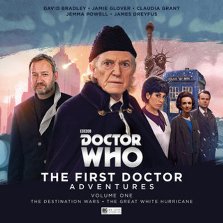 The First Doctor Adventures CD Box sets