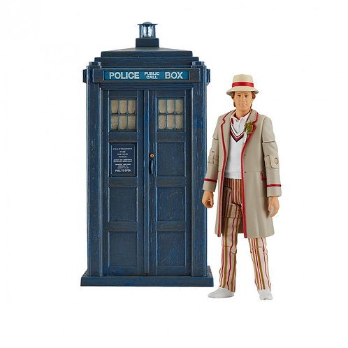 Doctor Who: Fifth Doctor and TARDIS from the Visitation