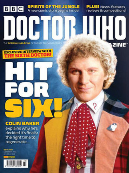 Doctor Who Magazine 462-528