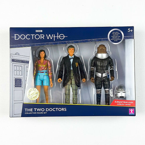 Doctor Who The Two Doctors Action Figure Set