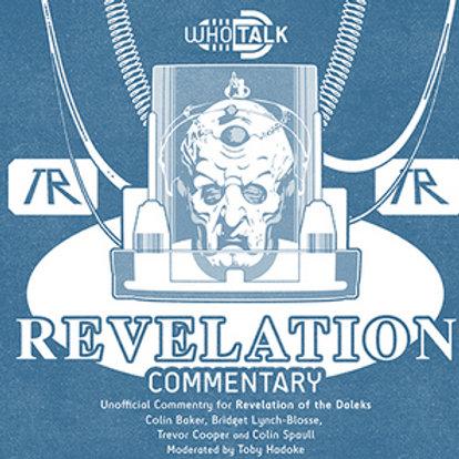 Commentary CD: Revelation of The Daleks