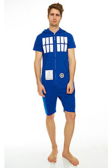 TARDIS short Jumpsuit