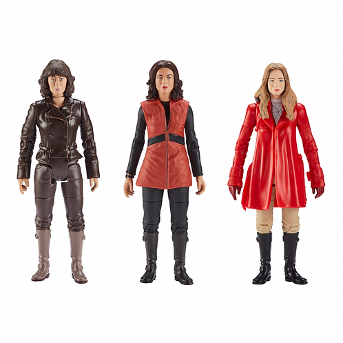 Companions of The Third and Fourth Doctors Action Figure Set