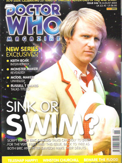 Doctor Who Magazine issues 333-385