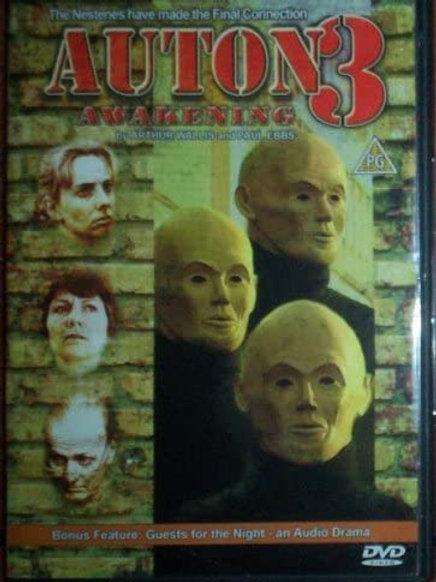 Auton Trilogy DVD Series (Auton, Auton 2: Sentinel, Auton 3)