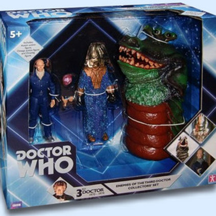Enemies of the Third Doctor Action Figure Set