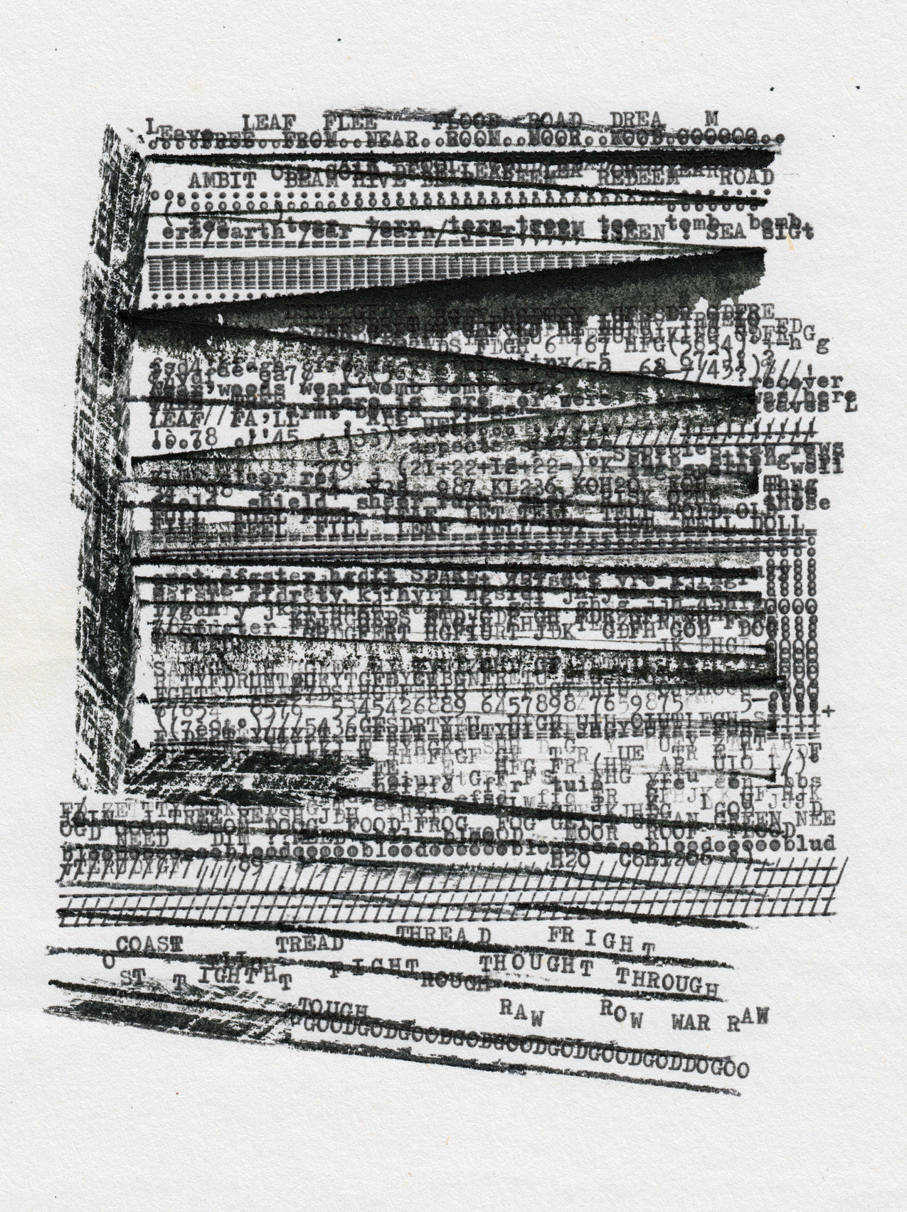 Federico Federici, Thought grinding machine