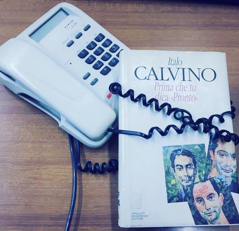 """Calvino, Prima che ti dica """"Pronto"""" (Arnoldo Mondadori)"""