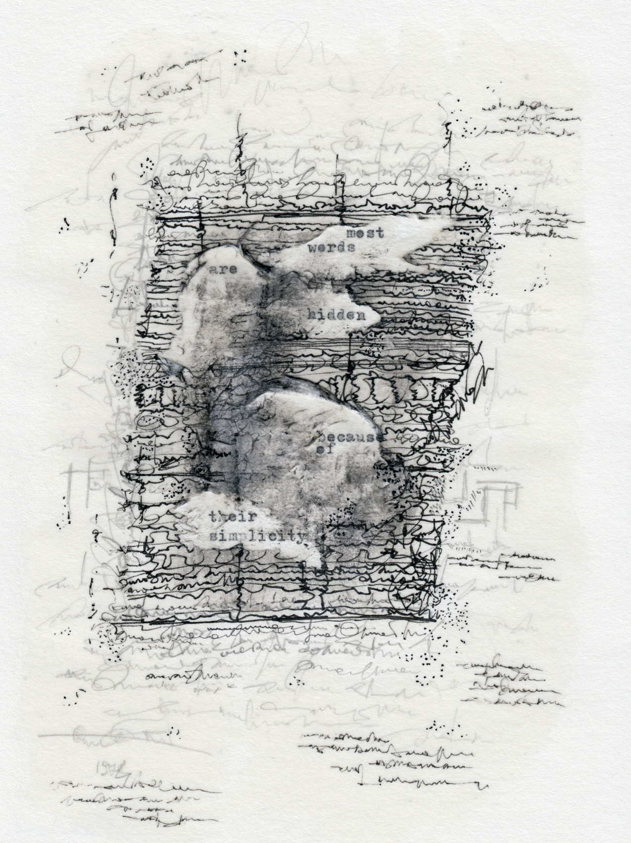 Federico Federici, Why most words are hidden