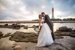 Photographe mariage trash the dress
