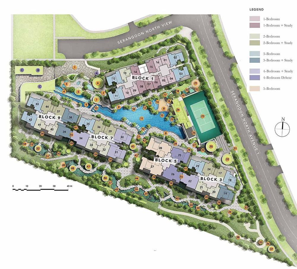 Garden Residences Site Plan
