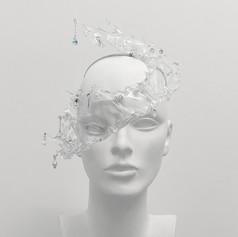 Clear 'Hydra' Headpiece #1