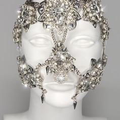 Full Crystal Face Mask